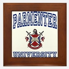PARMENTER University Framed Tile