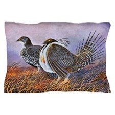 Sage Grouse Pillow Case