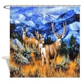 Animals Shower Curtains