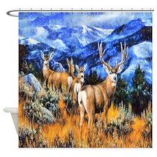 High Country Harem Shower Curtain