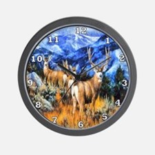 High Country Harem Wall Clock