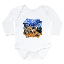 High Country Harem Long Sleeve Infant Bodysuit