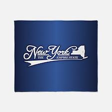 New York State of Mine Throw Blanket