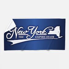 New York State of Mine Beach Towel