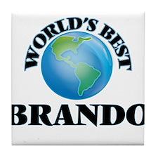 World's Best Brando Tile Coaster