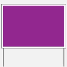 Orchid Solid Color Yard Sign
