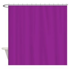 Orchid Solid Color Shower Curtain