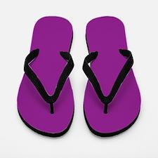 Orchid Solid Color Flip Flops