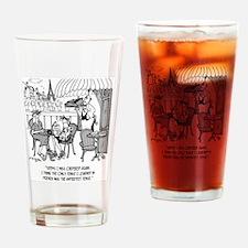 French Cartoon 4932 Drinking Glass