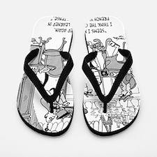 French Cartoon 4932 Flip Flops