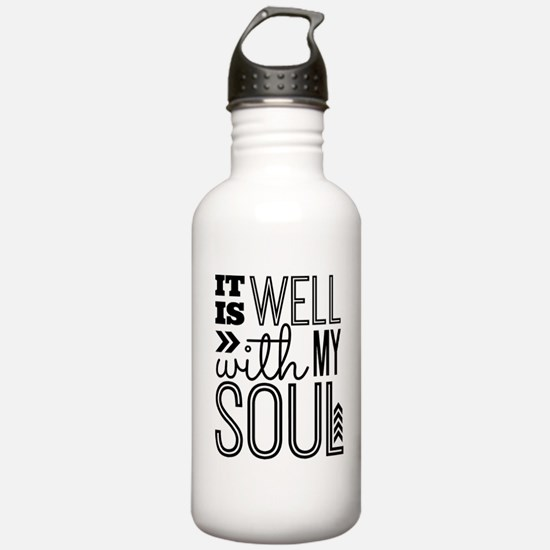 It is Well With My Sou Water Bottle