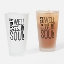 It is Well With My Soul Drinking Glass