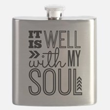 It is Well With My Soul Flask