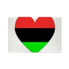 Cute African american flag Rectangle Magnet