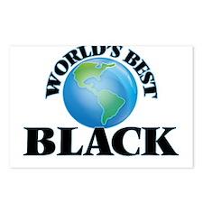 World's Best Black Postcards (Package of 8)
