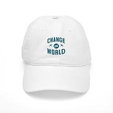 Change The World Baseball Baseball Cap