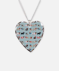 Winter Pugs Necklace