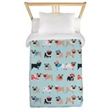 Pug Twin Duvet Covers