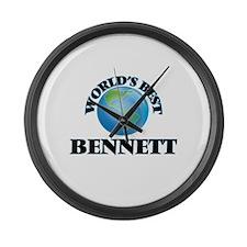 World's Best Bennett Large Wall Clock