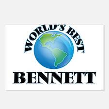 World's Best Bennett Postcards (Package of 8)