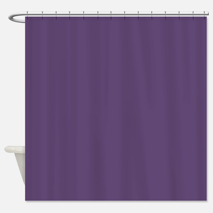 Solid Purple Shower Curtains Solid Purple Fabric Shower Curtain Liner