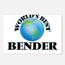 World's Best Bender Postcards (Package of 8)