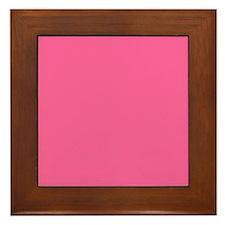 Pink Framed Tile