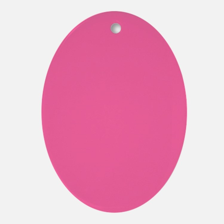 Pink Ornament (Oval)