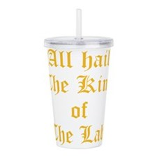 Unique King Acrylic Double-wall Tumbler