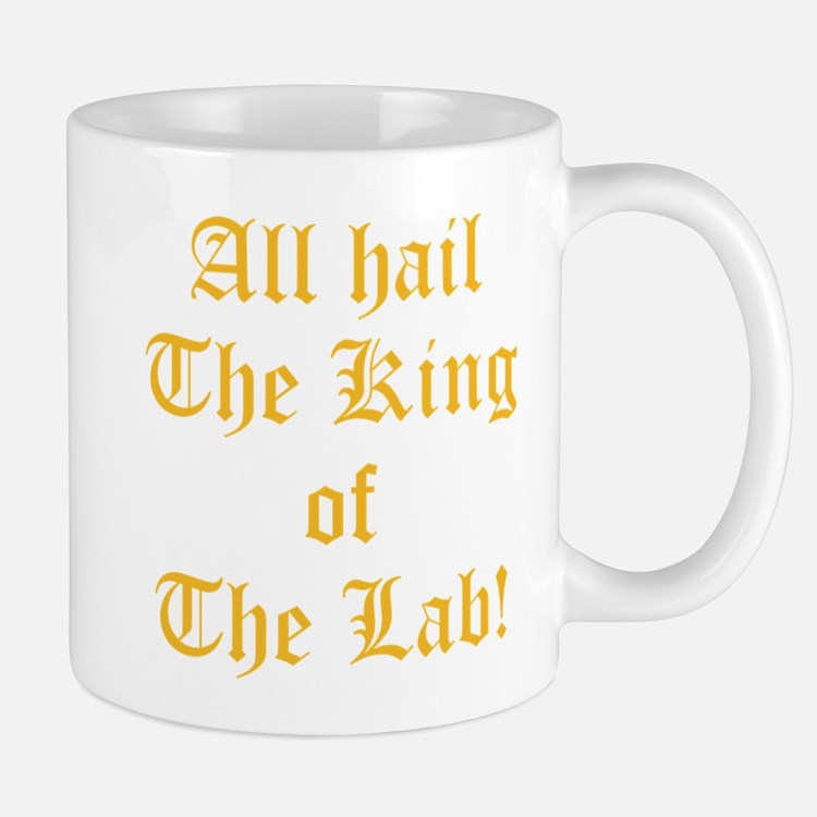 Cute King lab Mug