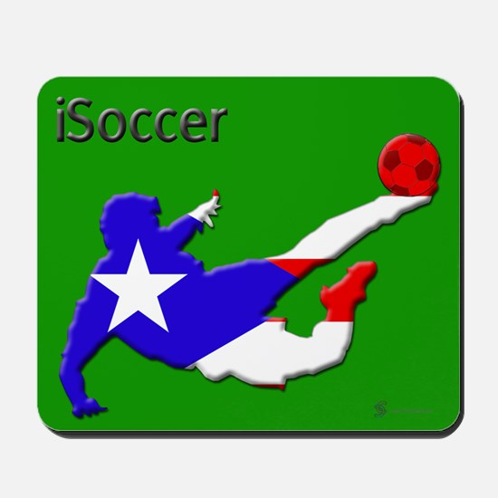iSoccer Puerto Rico Mousepad