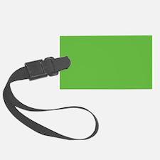 Green Luggage Tag