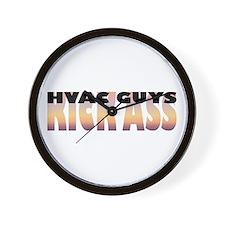 HVAC Guys Kick Ass Wall Clock