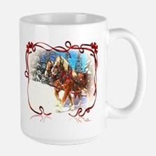 Holiday season' s sleigh ride Mugs