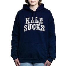 Kale Sucks Women's Hooded Sweatshirt