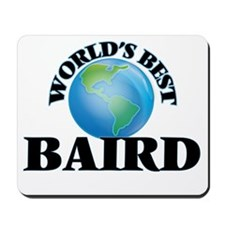 World's Best Baird Mousepad