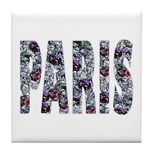 Paris Diamonds Tile Coaster