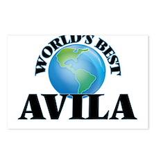 World's Best Avila Postcards (Package of 8)