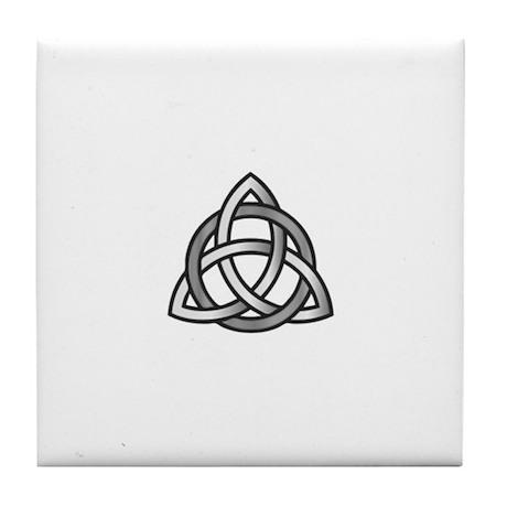 Celtic Symbols Tile Coaster