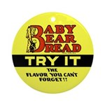 Baby Bear Bread #2 Ornament (Round)