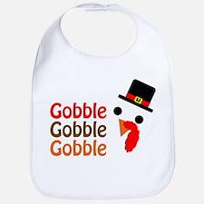 Gobble, gobble, gobble Bib
