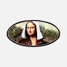 Mona Lisa Thanksgiving Patches