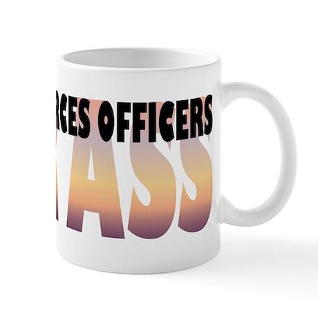 Human Resources Officers Kick Ass Mug