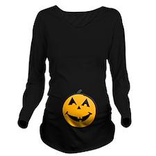 Little Pumpkin Belly Long Sleeve Maternity T-Shirt