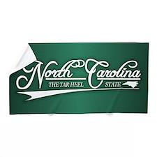 North Carolina State of Mine Beach Towel