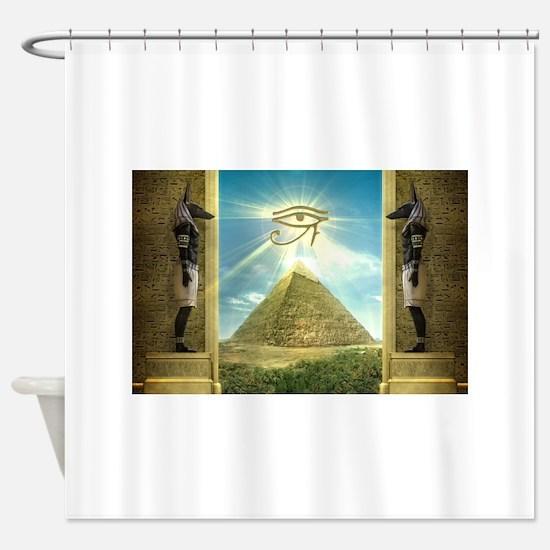 Anubis40.jpg Shower Curtain
