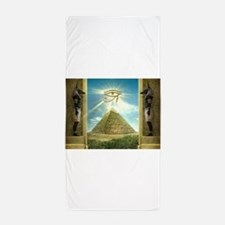 Anubis40.jpg Beach Towel