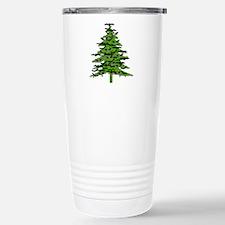 Christmas Bat Tree Travel Mug