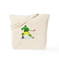 Funny Ice hockey Tote Bag