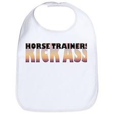Horse Trainers Kick Ass Bib